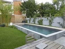 piscine hors sol beton en kit travaux piscine en kit semi enterr 233 e beton