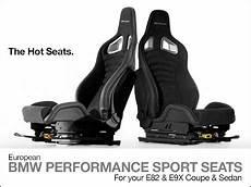bmw performance sitze ecs news e82 e9x coupe sedan bmw performance sport seats