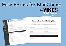easy forms for mailchimp captcha replacement