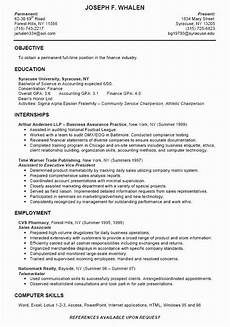 sle resume college student fresh college intern resume