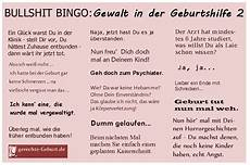 gewalt in der geburtshilfe bullshit bingo gewalt in der geburtshilfe initiative