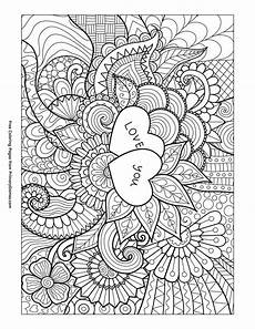 169 best hearts love coloring pages for adults images on