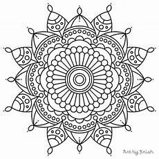 page mandala coloring pages at getcolorings