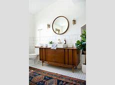 Modern Vintage Bathroom Reveal   brepurposed