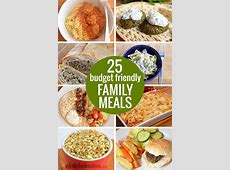 Budget Friendly Family Dinners   Picklebums