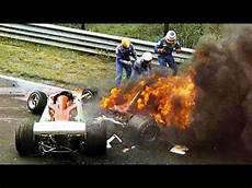 niki lauda unfall 40 years from the date of the at the nurburgring