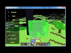 minecraft tips using mcedit to flip and rotate objects