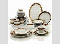Highgate Manor Leopard Print Chic 44 piece Porcelain