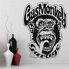 Sticker Garage by Gas Monkey Wall Sticker Tv Logo Wall Decal Garage Home Decor