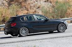 Bmw 1 Series Lci Facelift Sighted Again On Test