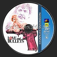 charles bronson collection love and bullets dvd label dvd covers labels by customaniacs