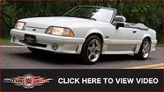 1989 ford mustang gt 5 0 convertible sold youtube