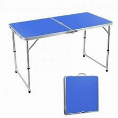 portable foldable aluminium table meja lipat dt363