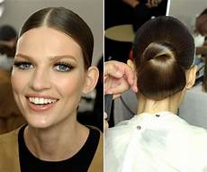 tied up in knots a simple knot is an utterly classic look that shows off pretty makeup a long