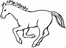 Malvorlagen Gratis Tiere Niedliches Schnelles Pferd Ausmalbild Malvorlage Tiere