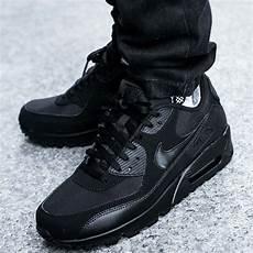 mens black nike air max 90 essential sale uk