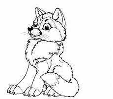 baby wolf coloring pages bestappsforkids