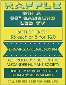 Raffle Ticket Fundraiser Flyer Poster Raffle Fundraiser Flyer Poster Template Postermywall