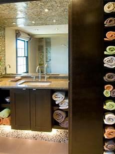 12 clever bathroom storage ideas hgtv