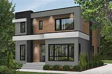 house plannings 4 bed modern house plan with master balcony 22488dr