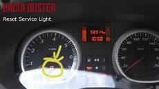 Dacia Duster Reset Light