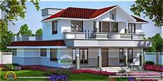 kerala model house plans small plan 3d home design gray