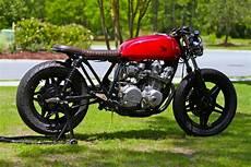 Cafe Racer Brat honda cb750 brat cafe by magnum opus bikebound