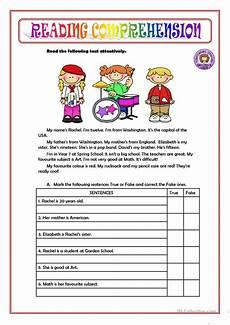 comprehension worksheets 15452 reading comprehension worksheet free esl printable worksheets made by teachers