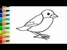 30 Gambar Burung Kartun Mudah Kumpulan Gambar Kartun
