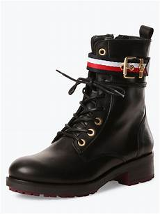 hilfiger damen boots aus leder kaufen peek