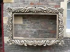 styropor bilderrahmen barock polystyrene large frame idea decor frame creative home