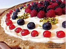 Crostata Con Crema Alla Ricotta E Frutti Di Bosco Un Dolce Molto Delicato Perfetto Per Chiudere | crostata con crema di ricotta e frutti di bosco