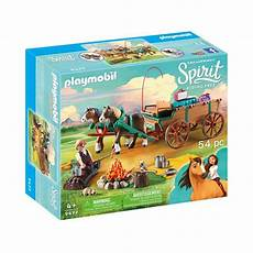 playmobil dreamworks spirit free lucky s and wagon
