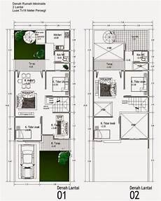 Denah Rumah 2 Lantai Minimalis 2016 Tabloid Rumah Idaman