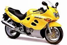 Suzuki Gsx600f Model History