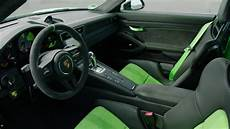 porsche 911 gt3 rs in lizard green interior design