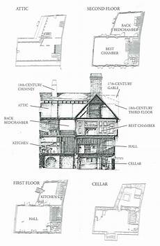 paul revere house floor plan colonial home designs paul revere s house