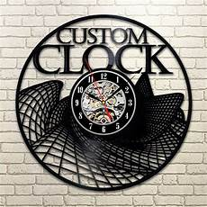 Retro Vintage Classic Disc Wall Clock by 1piece Custom Vinyl Wall Clock Retro Vintage Lp Record