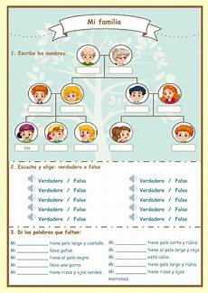 worksheets la familia 18350 la familia interactive and downloadable worksheet check your answers or send them to