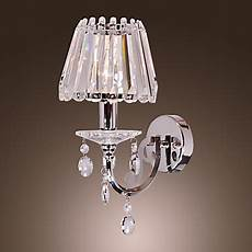 applique da parete classiche 40w moderna cristallo applique da parete con 1 luce in