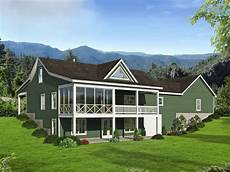 mountain house plans rear view 062h 0140 mountain house plan ideal for empty nesters