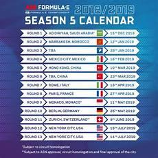 2018 19 Formula E Season