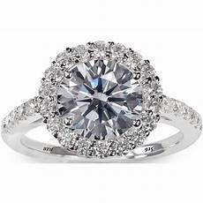 925 sterling silver stunning cut simulated diamond
