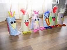 basteln mit klopapierrollen v 246 gel aus klopapierrollen basteln mit kindern fr 252 hling
