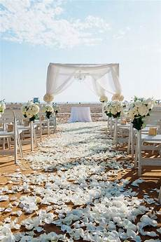 ceremony d 233 cor photos all white beach wedding inside weddings