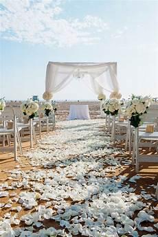 ceremony d 233 cor photos all white beach wedding inside weddings