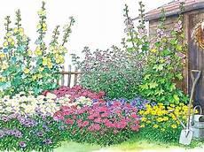 Ein Bauerngarten Beet Zum Nachpflanzen Bauerngarten