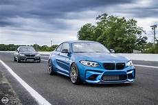 blue bmw m2 by mode carbon