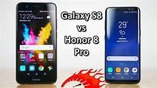 honor 8 pro vs galaxy s8 speedtest comparison