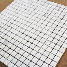 Mosa 239 Que Marbre Carrare Blanc Vieilli Carrelage Mosaique